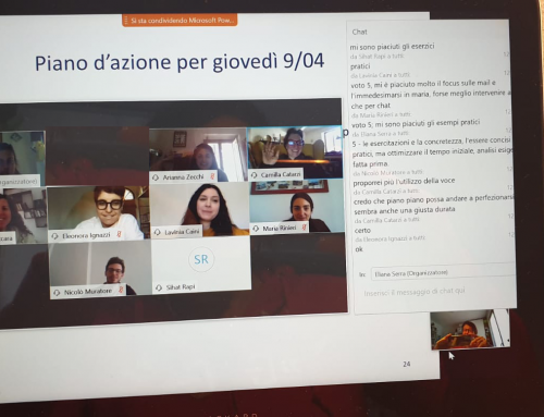 """Formazione esperienziale online, ovvero gestire il passaggio da """"live"""" a remoto"""