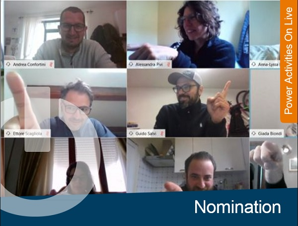 Ice-Breaking Nomination